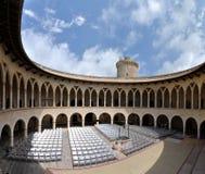 Bellver Schloss in Palma de Mallorca, Spanien stockbilder