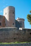 Bellver slotttorn Royaltyfri Fotografi