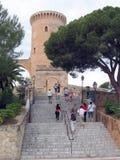 bellver zamku Zdjęcie Stock