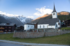 Bellwald Church Royalty Free Stock Image
