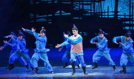 """Bellwether-Dance drama """"The Dream of Maritime Silk Road"""". Dance drama """"The Dream of Maritime Silk Road"""" centers on the plot of two generations of Royalty Free Stock Photography"""
