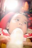 Belly-band del bebé Imágenes de archivo libres de regalías