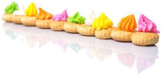 Belly Button Iced Gem Biscuits XI Royalty Free Stock Image