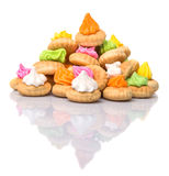 Belly Button Iced Gem Biscuits XIII Royalty Free Stock Photography