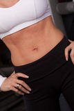 Belly close-up Royalty Free Stock Photography