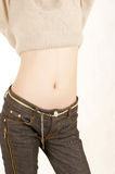 Belly Dance. The abdomen is a beautiful woman Royalty Free Stock Photography