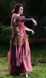 Belly dance. Royalty Free Stock Photo