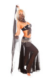 Belly dance. Royalty Free Stock Image