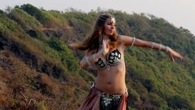 Belly dance stock video