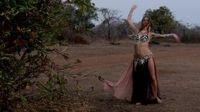 Belly dance stock video footage