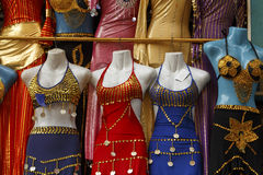 Belly dance dress. Royalty Free Stock Image