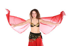 Belly dance girl Stock Photos