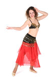 Belly dance girl Stock Photo