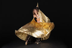 Belly dance girls Stock Images