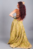 Belly dance movement Stock Photo