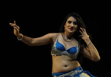 Belly Dance by Payal Gupta Stock Images