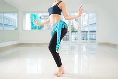 Belly dance performance Royalty Free Stock Images