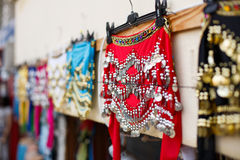 Belly dance shawls Royalty Free Stock Photography