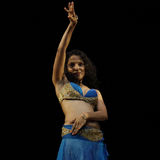 Belly Dance by Shruthi Kulkarni Stock Image