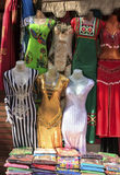 Belly dance suit in shop,Cairo Stock Photo