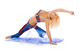 Belly dance. Stock Photography