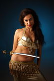 Belly dancer Royalty Free Stock Photography