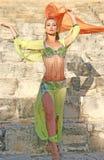 Belly dancer stock photo