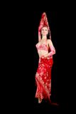 Belly dancer. In traditional dress Stock Image