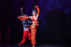 """Belly Dancer- ballet """"One Thousand and One Nights"""" Royalty Free Stock Photos"""