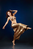 Belly dancer Royalty Free Stock Images