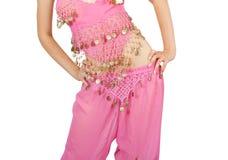 Belly dancer. Close-up Stock Image