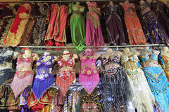 Belly Dancer Costumes at the Grand Bazaar Royalty Free Stock Image