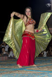 Belly dancer performance, Dubai Stock Photography