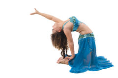 Belly dancer performing Stock Photography