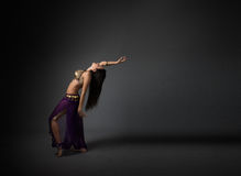 Belly dancer performing Royalty Free Stock Photo