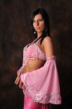 Belly dancer portrait Royalty Free Stock Photo