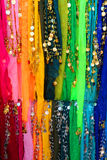 Belly dancer scarfs Stock Photography