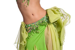 Belly Dancer Shaking her Hips Stock Photos
