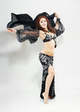 Belly dancer woman Stock Images