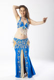 Belly dancer woman Royalty Free Stock Image
