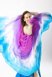 Belly dancer woman Royalty Free Stock Photography