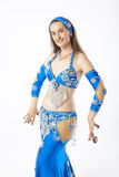 Belly dancer woman Stock Photo