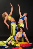 Belly dancers Stock Photography