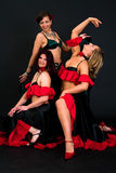 Belly dancers Stock Photo