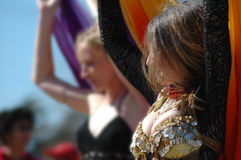 Belly Dancers Stock Image