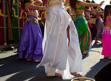 Belly dancers detail Royalty Free Stock Images