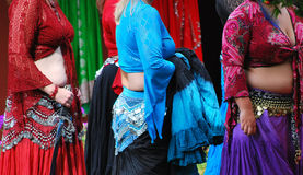 Belly dancers. Royalty Free Stock Photo