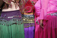 Belly dancers. Royalty Free Stock Photos