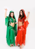 Belly dancing Royalty Free Stock Images