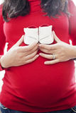 Pregnant woman belly Royalty Free Stock Photography